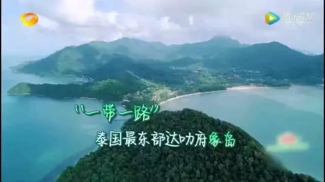 > 正文  突然发现一票明星 到泰国象岛白沙滩 开了一档香气四溢的综艺